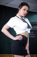 Aletta Ocean Brunette Schoolgirl
