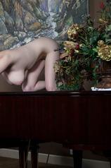 MISHA ON THE PIANO