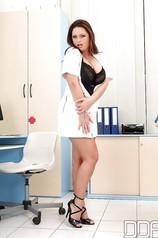 Curvy Nurse With Big Tits