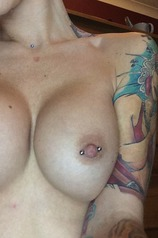 Becky Holt Shows Her Big Tits