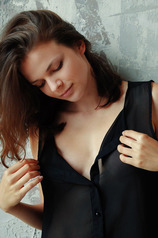 Gorgeous Ella Green knows the sexual power of a simple black dress