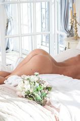 Hot blonde Sarika A