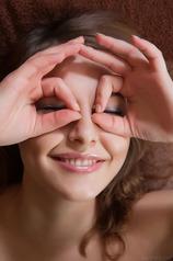 Nikia A's warm, radiant smile
