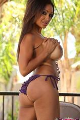 Priya Rai Purple Bikini