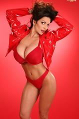 Denise Milani In Red