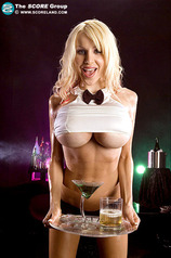 Huge boobs waitress