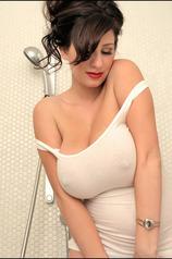 September Carrino Uncovering Her Huge Bosoms
