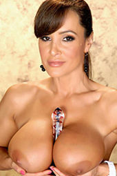 Lisa Ann In Her Short Little Skirt And Sexy Lingerie