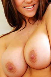 Busty Brunette Rachel Huge Natural Tits