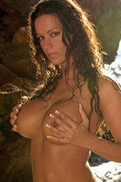 Vivian Busty Brunette