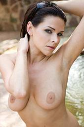 Cecilia Busty Brunette