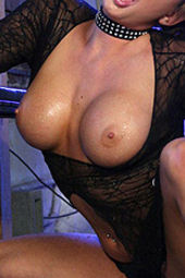 Tory Lane Oiled Up And Fingering Her Pussy