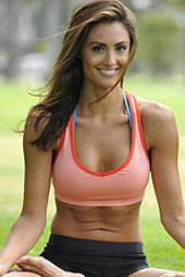 Sporty Celeb Katie Cleary