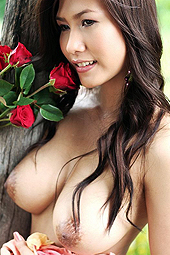 Busty Thai Rose Lydia Nitta Strips