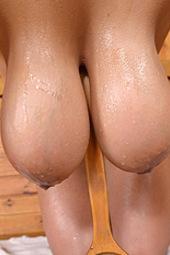 Sandra Milka Shows Her Huge Tits