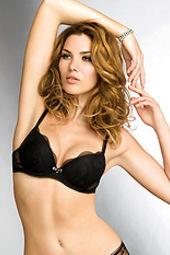 Cool Lingerie Model Gabriela Iliescu