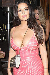 Abigail Ratchford In A Skin Tight Dress