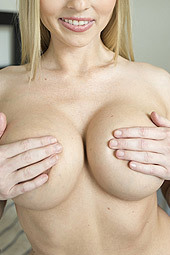 Busty Blonde Christie Stevens