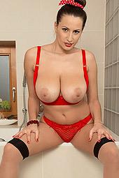 Sensual Jane Busty Bather