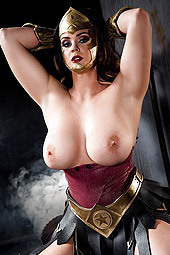 Busty Cosplay Babe Alison