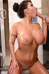 Busty Mature August Taylor Fucked In The Shower