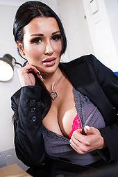 Busty Secretary Patty Michova
