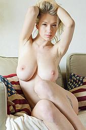 Busty Blonde Natasha Legeyda