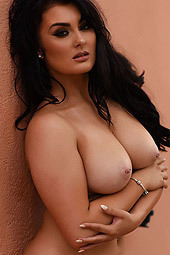 Busty Brunette Ashleigh Gee