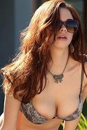 Sabrina Maree Strips Naked Outdoor