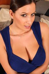 Sensual Jane Blue Dress Nudes