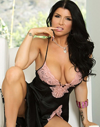 Romi Rain Showing Curves