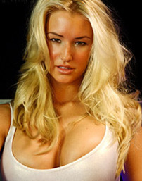 Busty Blonde Danica