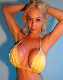 Barbara In Yellow Bikini