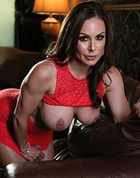 Huge Boobed Brunette Pornstar Kendra Lust
