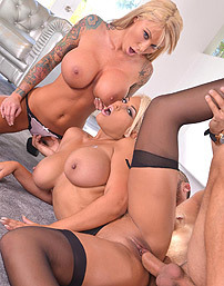 Lolly Ink And Bridgette B Threesome
