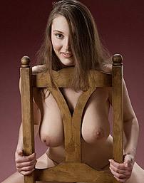 Ashley Natural Big Tits